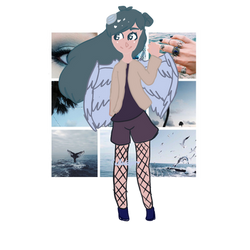 Aesthetic sea girl auction CLOSED by CallaEclipseKitty