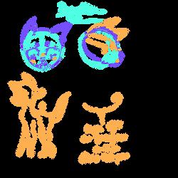 Deeravillion feral basic anatomy by CallaEclipseKitty