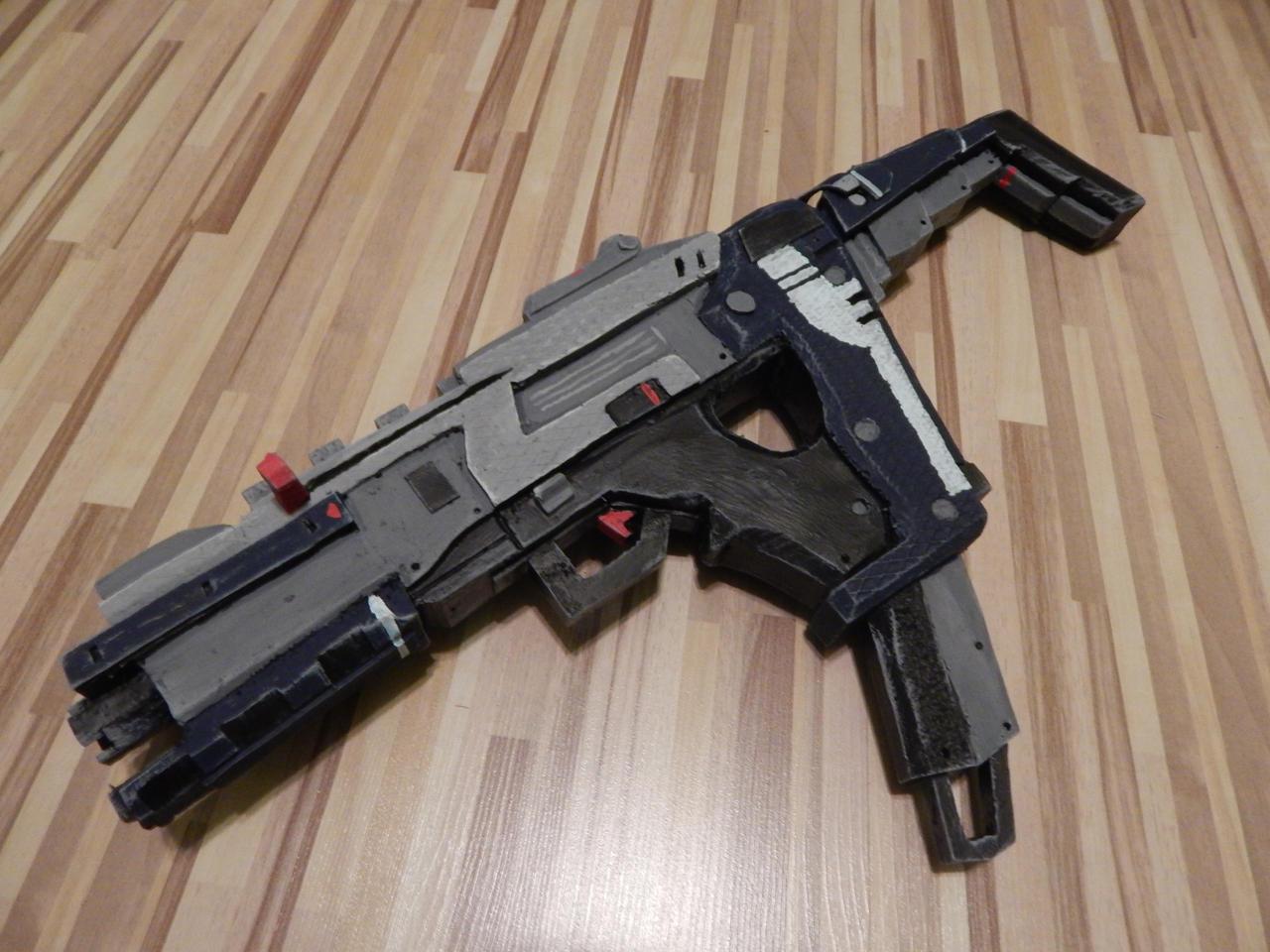Titanfall 2 Alternator Submachine Gun by WarlordCommander ...