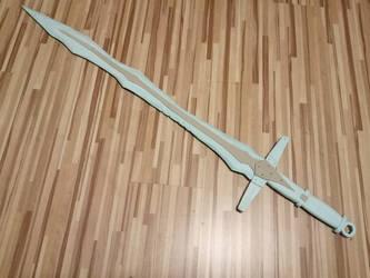 Skyrim Dragonbone Greatsword WIP