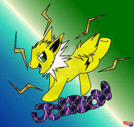 My Little Jolteon #135 by SoldierBoyCaboose