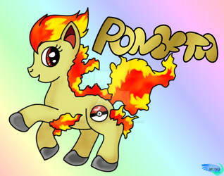 My Little Ponyta #077 by SoldierBoyCaboose