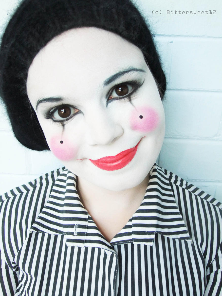 Makeup - Happy Mime by Bittersweet12 on DeviantArt