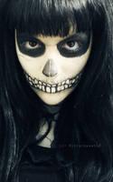 Makeup - Skeleton by Bittersweet12