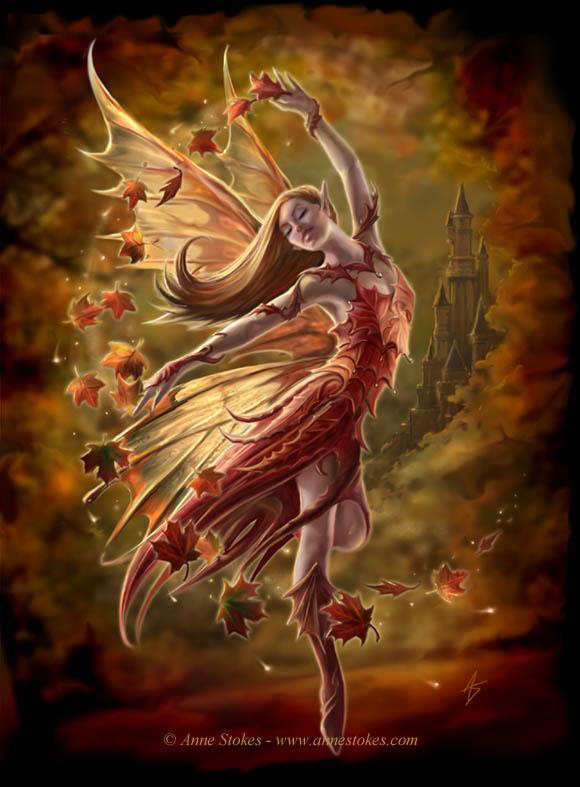 Autumn fairy by Ironshod