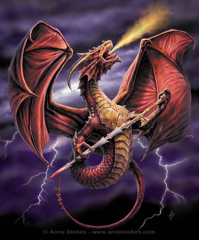 Victorious dragon