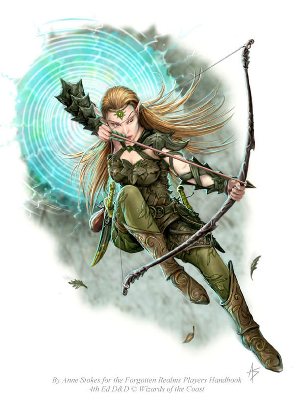Elven Scout by Ironshod on DeviantArt