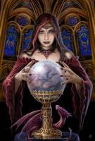 Crystal ball by Ironshod