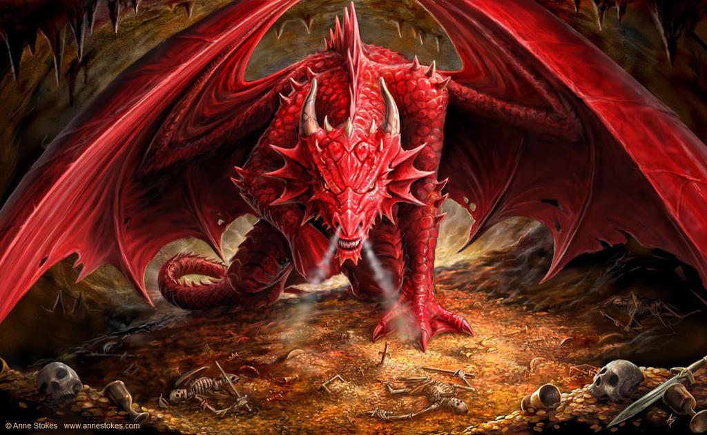 Liste des jeux proposés Dragons_Lair_by_Ironshod