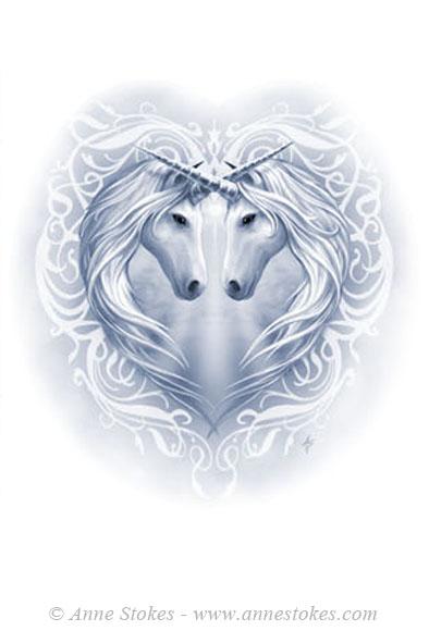 unicorn heart by ironshod on deviantart