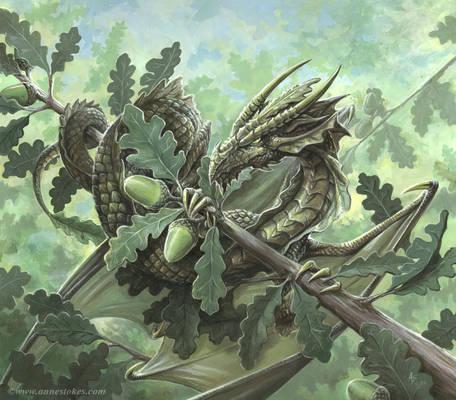 Oak dragon