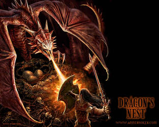 Dragon nest wallpaper by Ironshod
