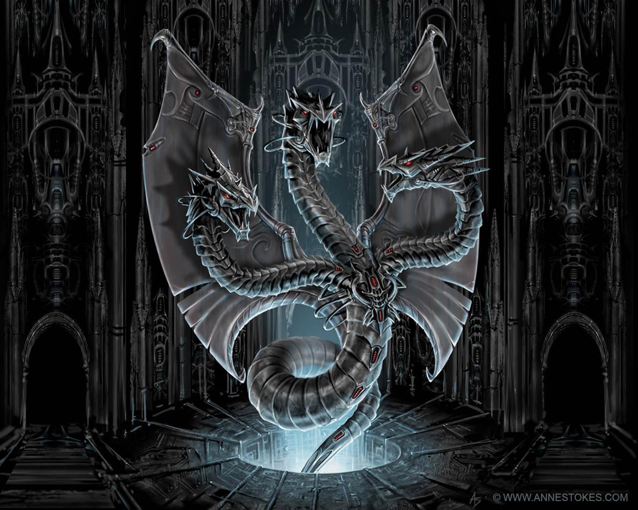 Hydrolic Hydra wallpaper by Ironshod