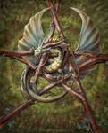 Forest dragon design