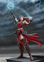 Scarlet Mage by Ironshod