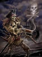 Pirate skeleton by Ironshod