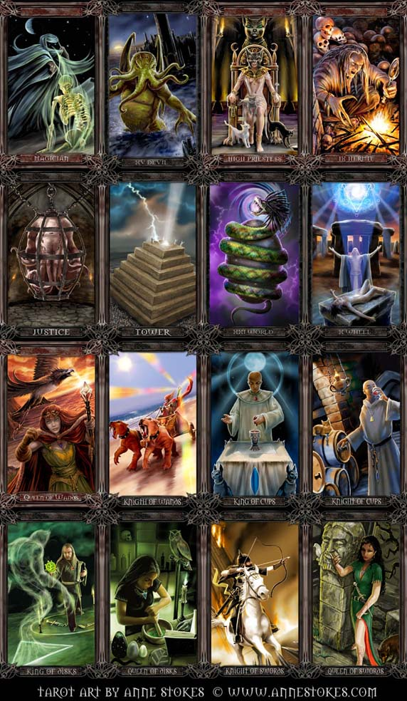 Tarot cards by Ironshod