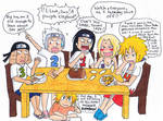 Breakfast with the Hokages