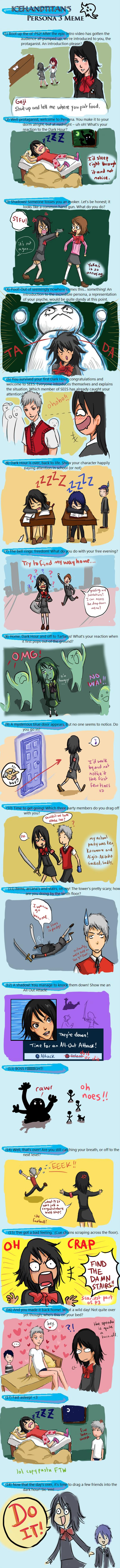 IHT's Persona 3 Meme by gejimayo