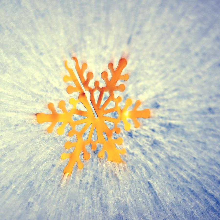 Gilded Snowflake by DismayedSense