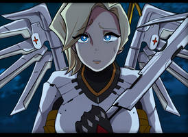 Overwatch - Mercy by Mintou00