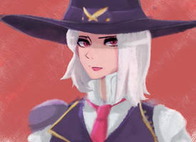 overwatch - Ashe by Mintou00