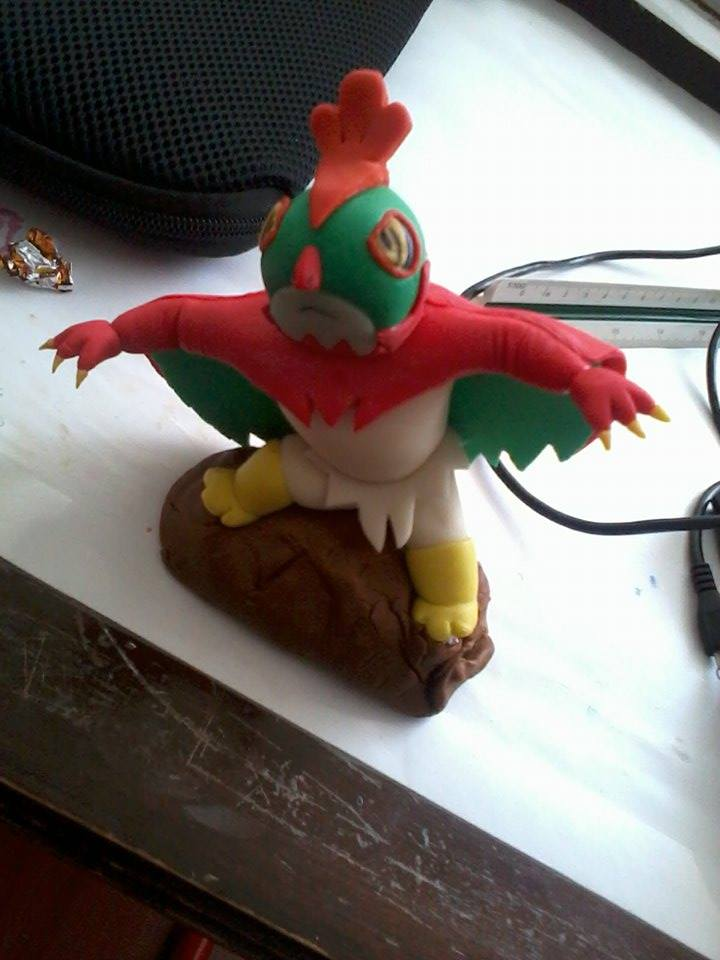 Hawlucha figure by Lucky-JJ