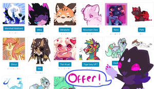 TH Up for offers (Paca, Lyth, Ranebopets)