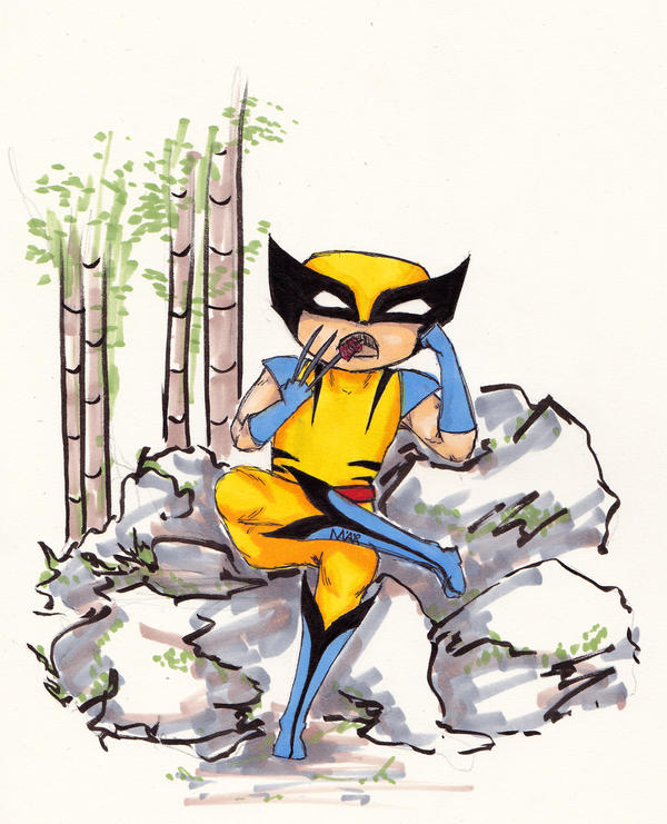 Wolverine by Ma-er
