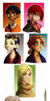 W.I.T.C.H. Characters of vol.1