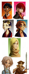 W.I.T.C.H. Characters of vol.1 by Phobs