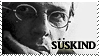 Patrick Suskind stamp by Phobs