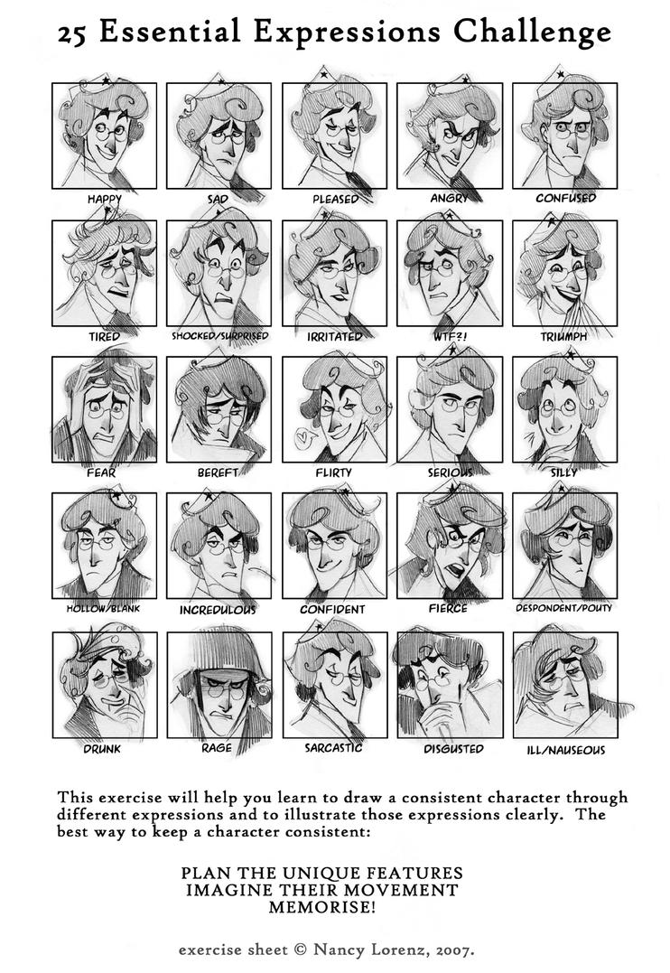 25_expressions_meme_by_phobs 25 expressions meme by phobs on deviantart