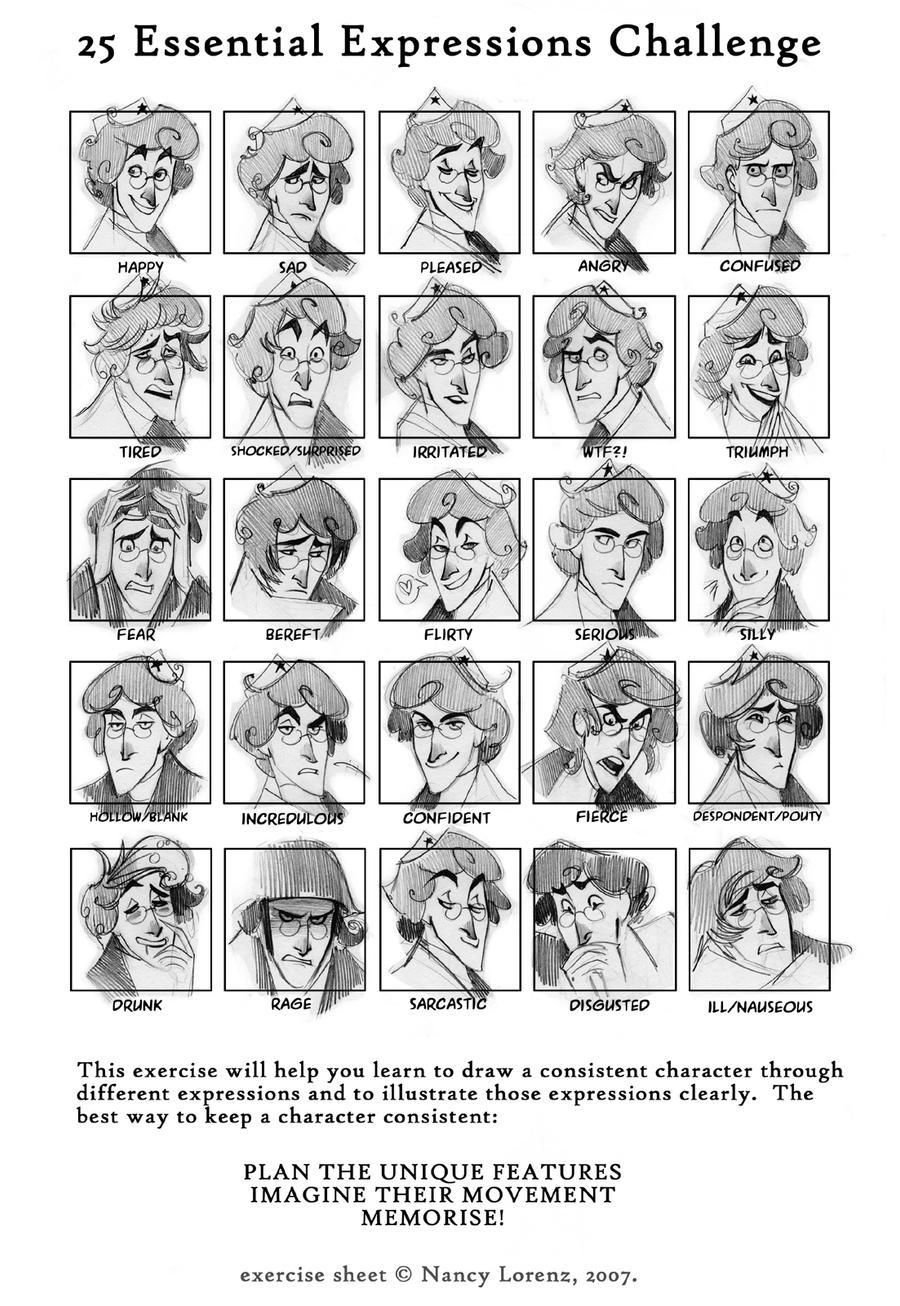 25 expressions meme