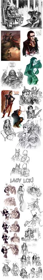 Thor sketchdump II