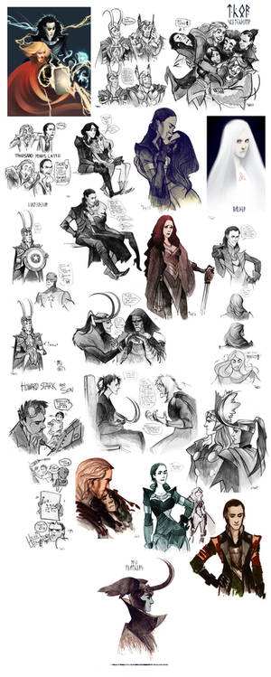 Thor sketchdump III