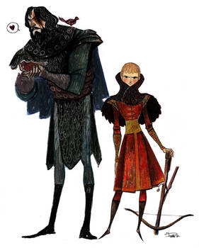 Game of Thrones Prince and the Hound