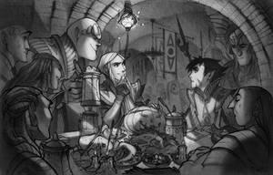 w.i.t.c.h. nostalgia Caleb and the palace guards