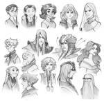 w.i.t.c.h. nostalgia Doodles