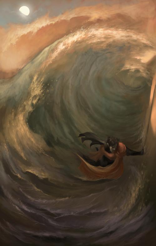 Waters of Amu Derya by Phobs
