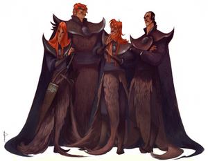 Genghis' sons sketch