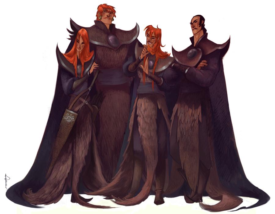 Genghis' sons sketch by Phobs