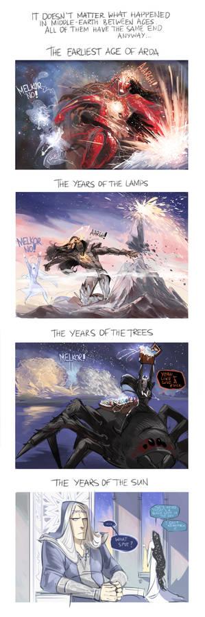 Silmarillion the Summary