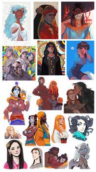 Pics and sketches I