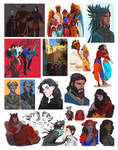 Pics ans sketches II