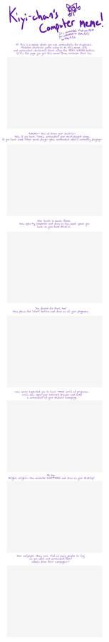 Blank computer meme--HUGE FILE