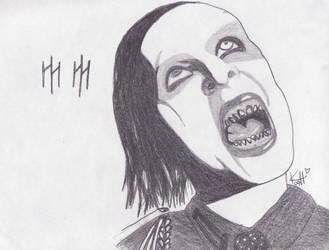 Marilyn Manson by kristienn