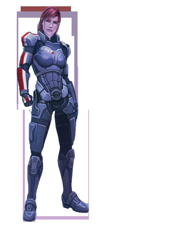 Shepard - Reignite by calicoJill