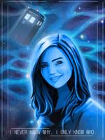 Clara Oswald - Doctor Who by calicoJill