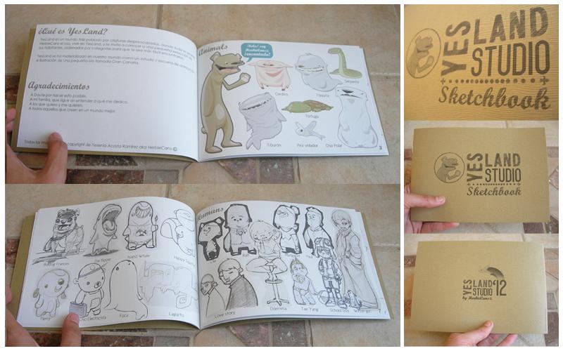 YesLand Studio Sketchbook by HerbieCans
